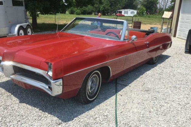 Red, Red, Red: 1967 Pontiac Catalina Convertible