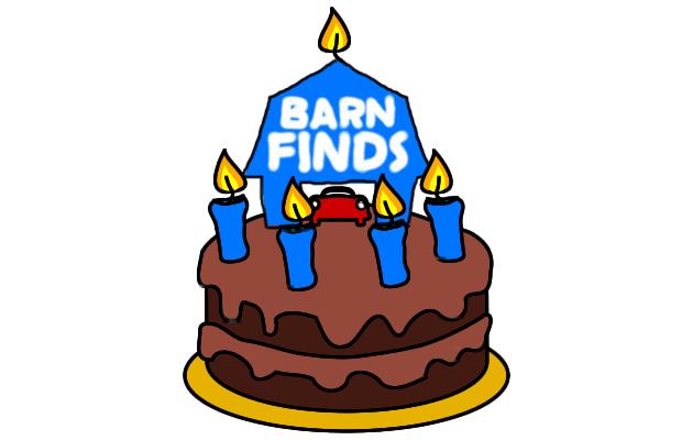 Happy 5th Birthday Barn Finds!