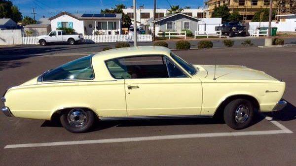 Front Bumper Repair >> Fastback Valiant: 1966 Plymouth Barracuda