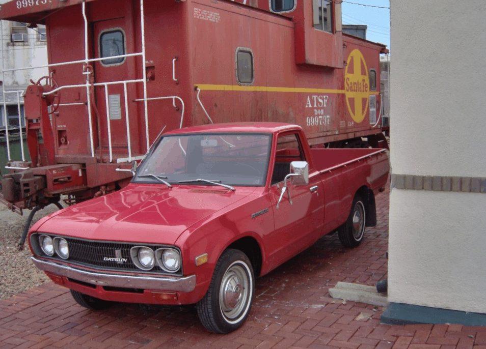 13K Mile Hustler: 1976 Datsun 620 Pickup