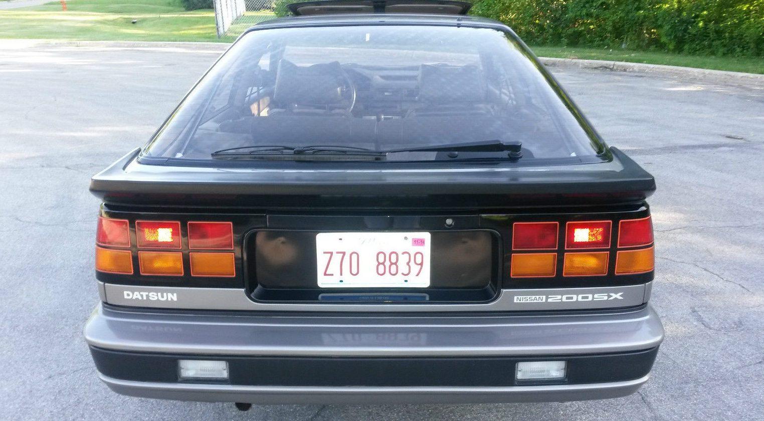 29 807 Miles 1984 Nissan 200sx Turbo