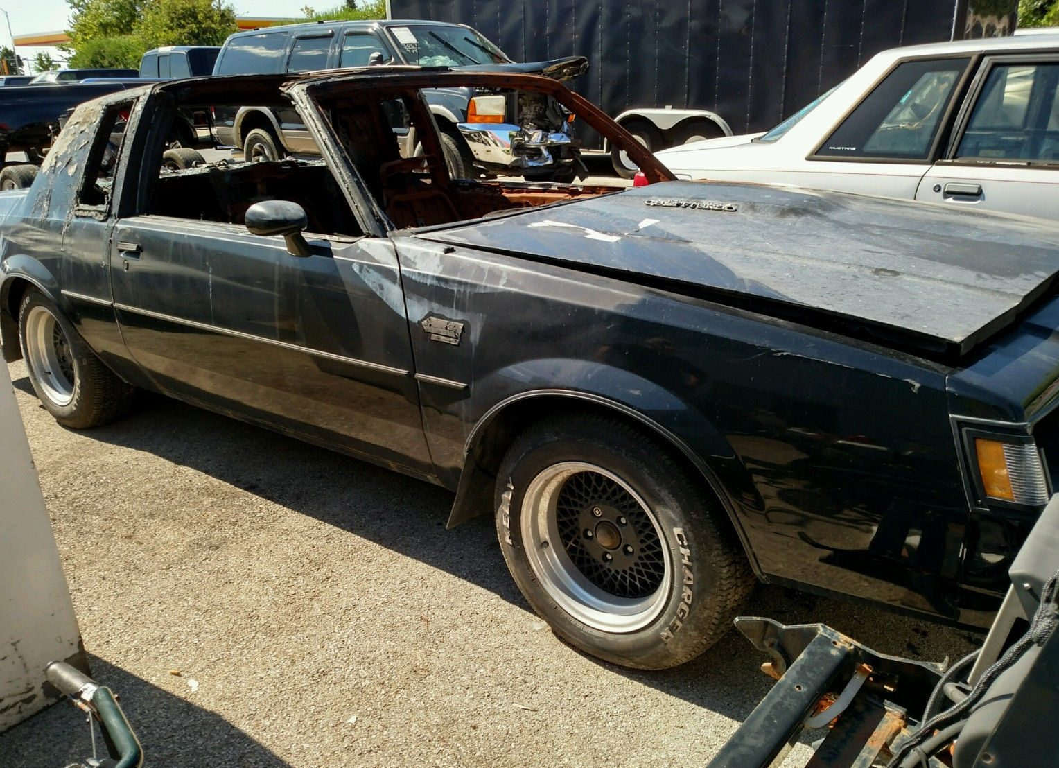 burn victim 1987 buick grand national. Cars Review. Best American Auto & Cars Review