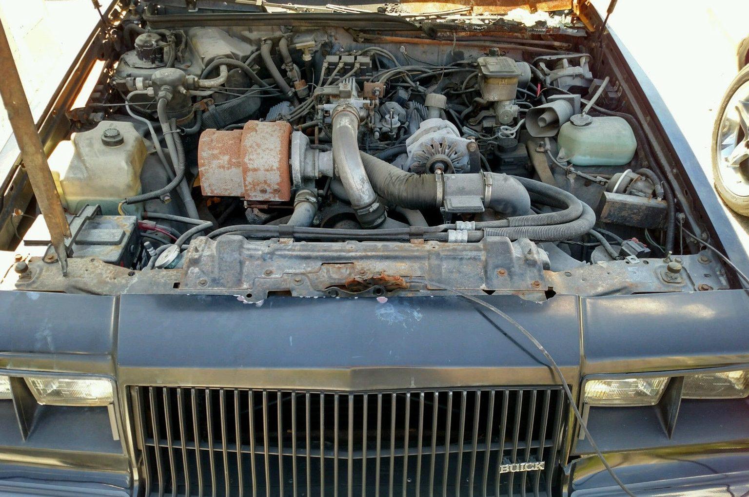 Burn Victim: 1987 Buick Grand National