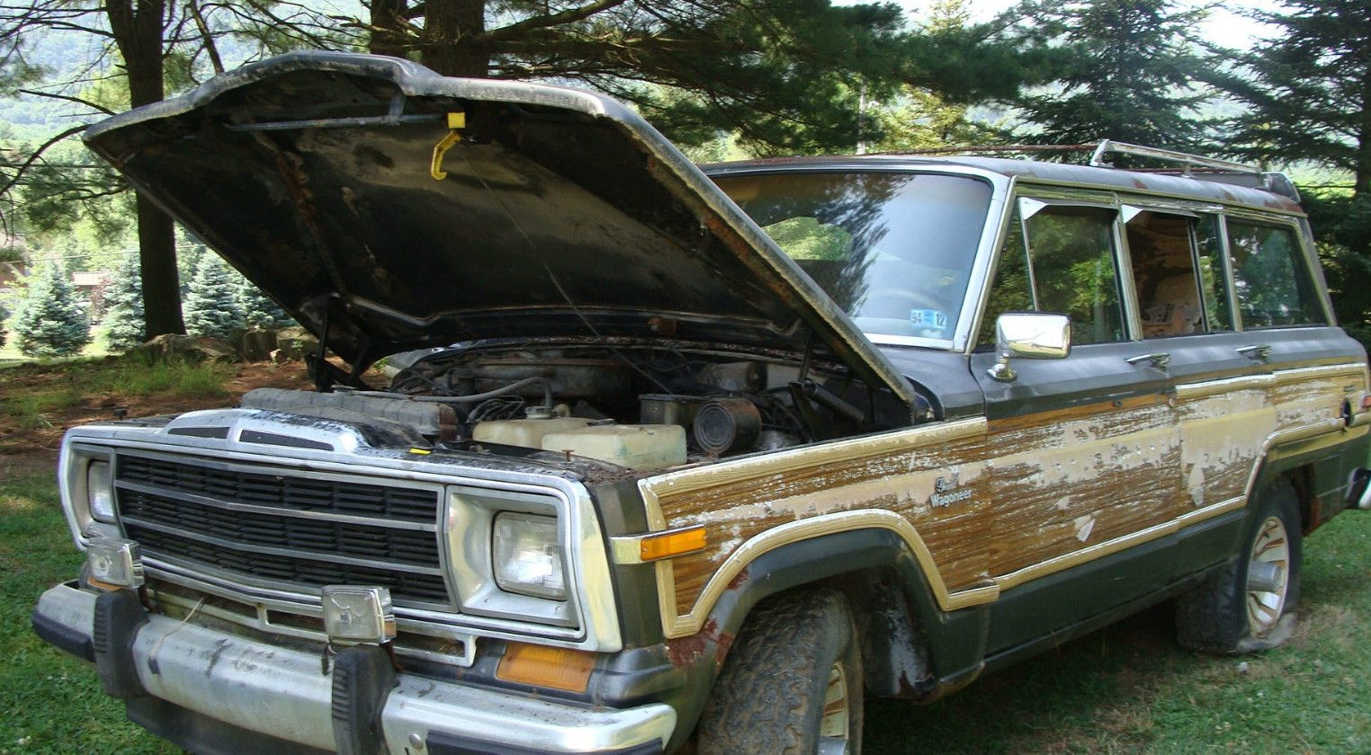 Jeep Grand Wagoneer For Sale >> Worth Saving? 1986 Jeep Grand Wagoneer