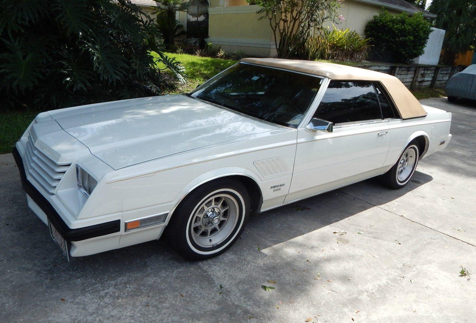 Nevada Desert Car: 1983 Dodge Mirada