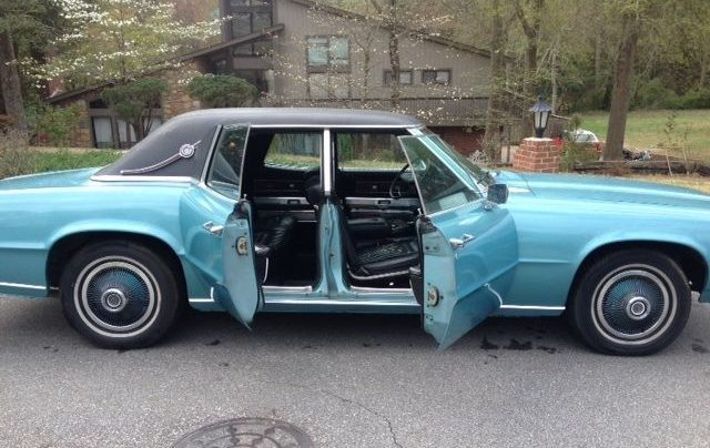 Four Unusual Doors: 1968 Ford Thunderbird