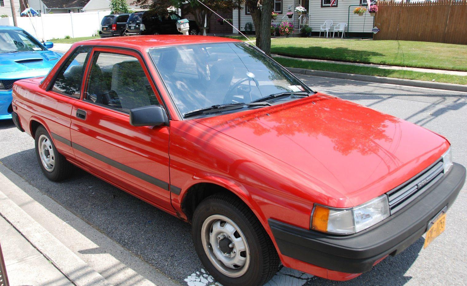 Economy Survivor 1989 Toyota Tercel