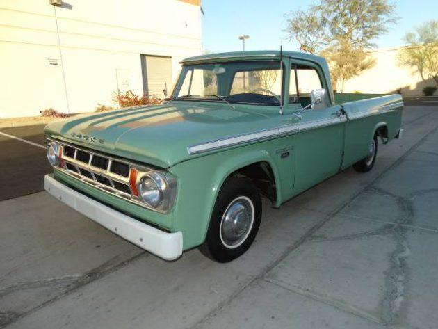 11,000 Original Miles: 1968 Dodge D100