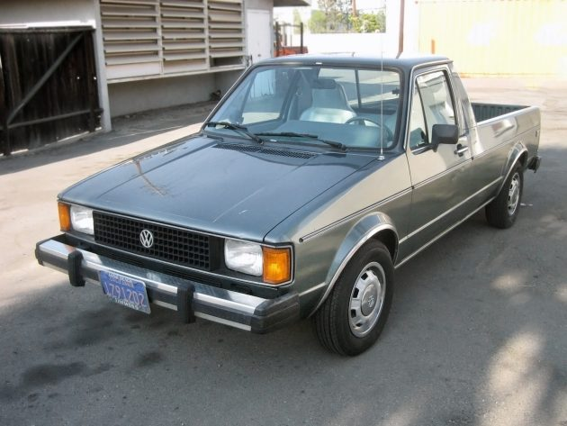 070116 barn finds 1981 volkswagen rabbit pickup lx 1