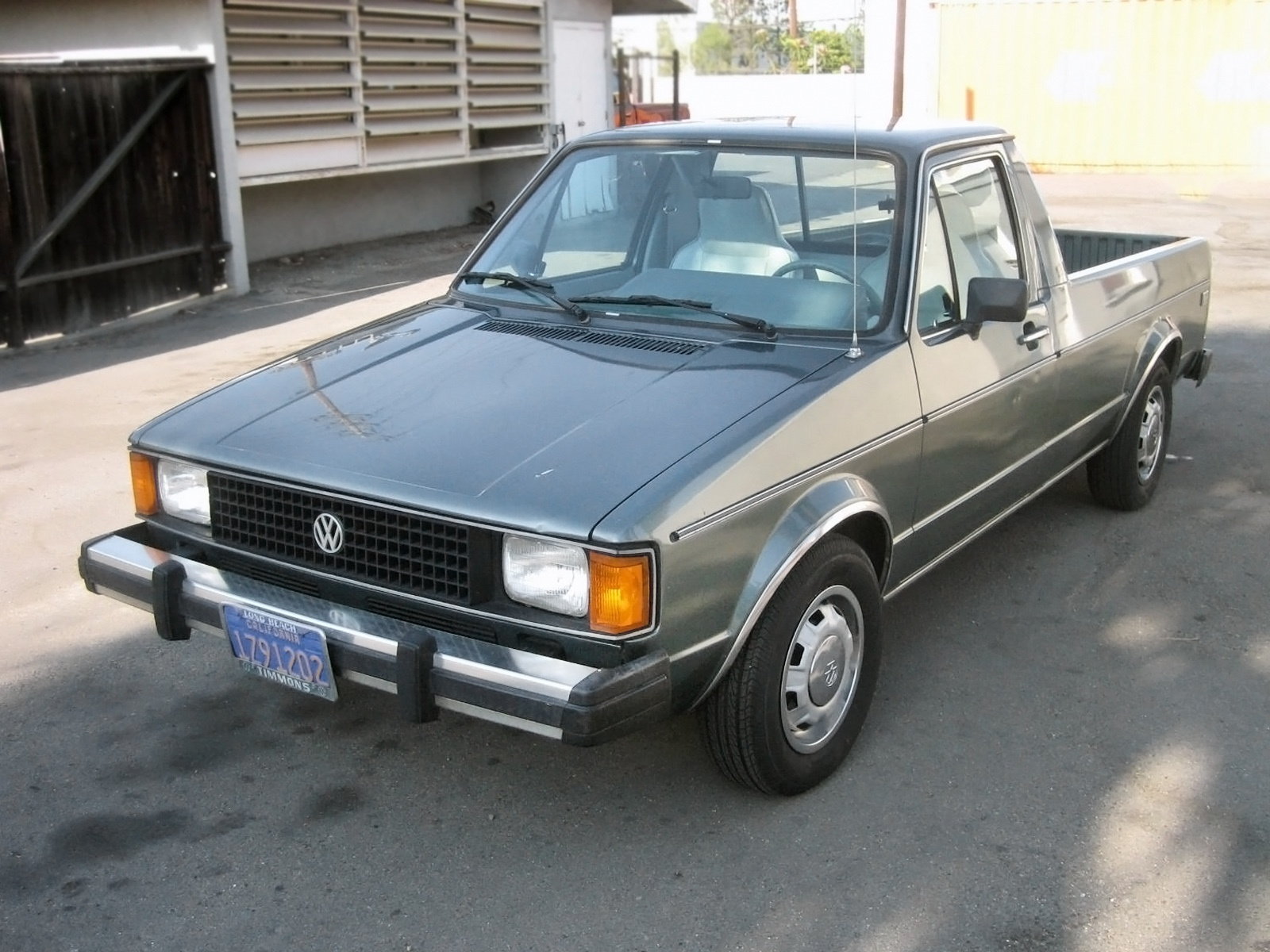 Vw Diesel Truck >> Diesel Power 1981 Volkswagen Rabbit Pickup Lx