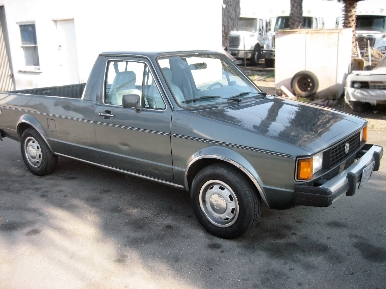 Vw Diesel Truck >> Diesel Power 1981 Volkswagen Rabbit Pickup Lx