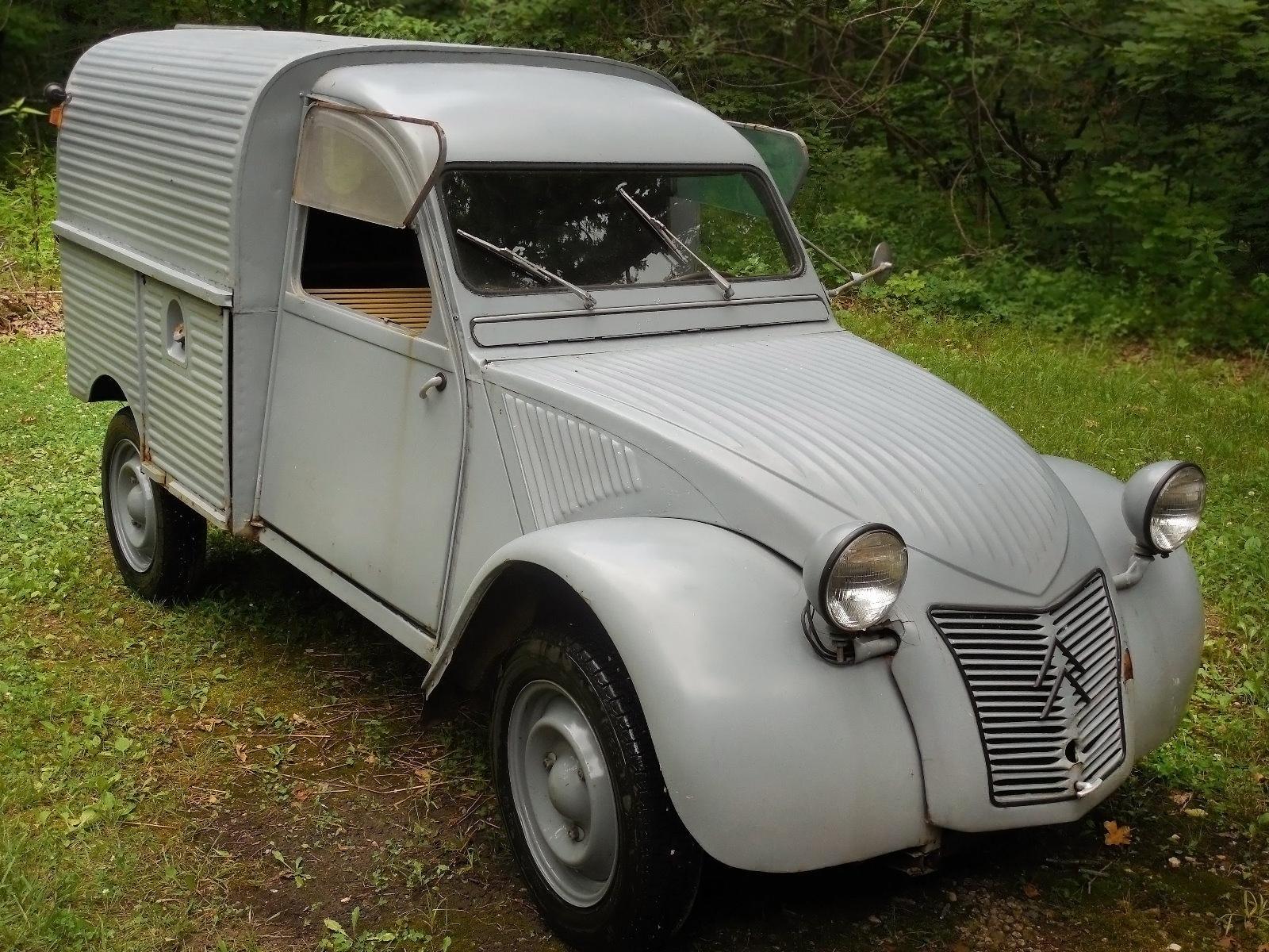 Fourgonnette Conclusion 1960 Citro 235 N 2cv Van