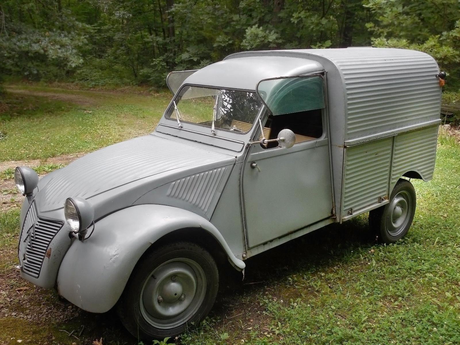 Fourgonnette conclusion 1960 citro n 2cv van for Garage citroen 42 cours de vincennes