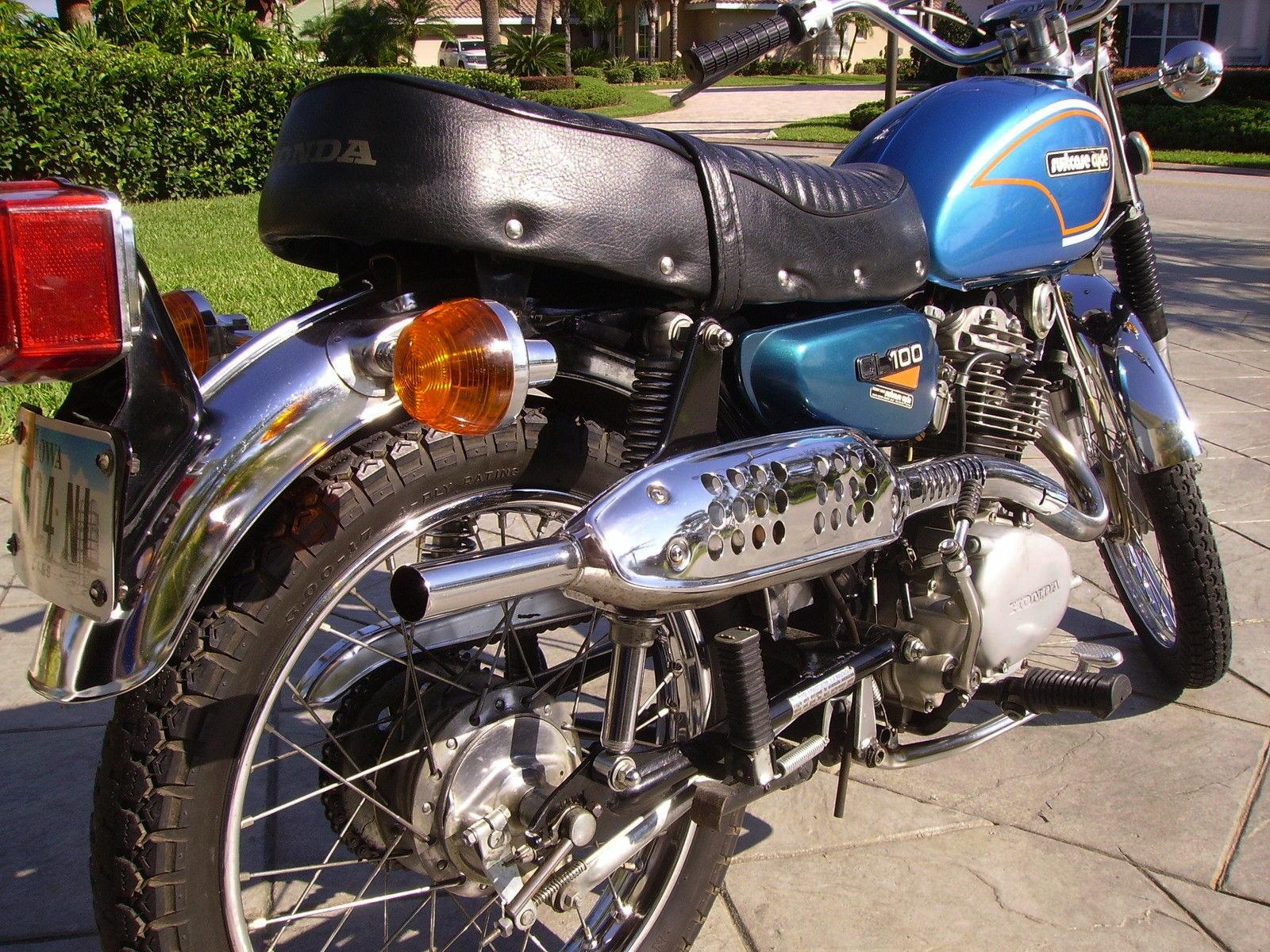 Santa Monica Honda >> Foldable Flyer: 1973 Honda CL100 Suitcase Cycle