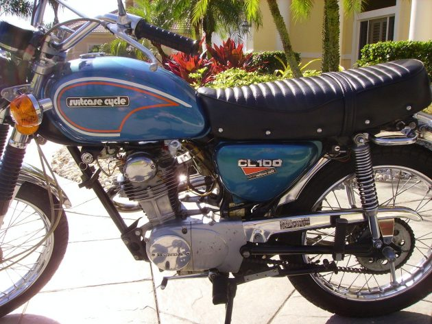 070516 Barn Finds - 1973 Honda CL-100- 4
