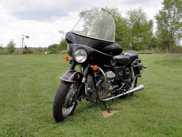 070516 Barn Finds - 1973 Moto Guzzi Eldorado- 2