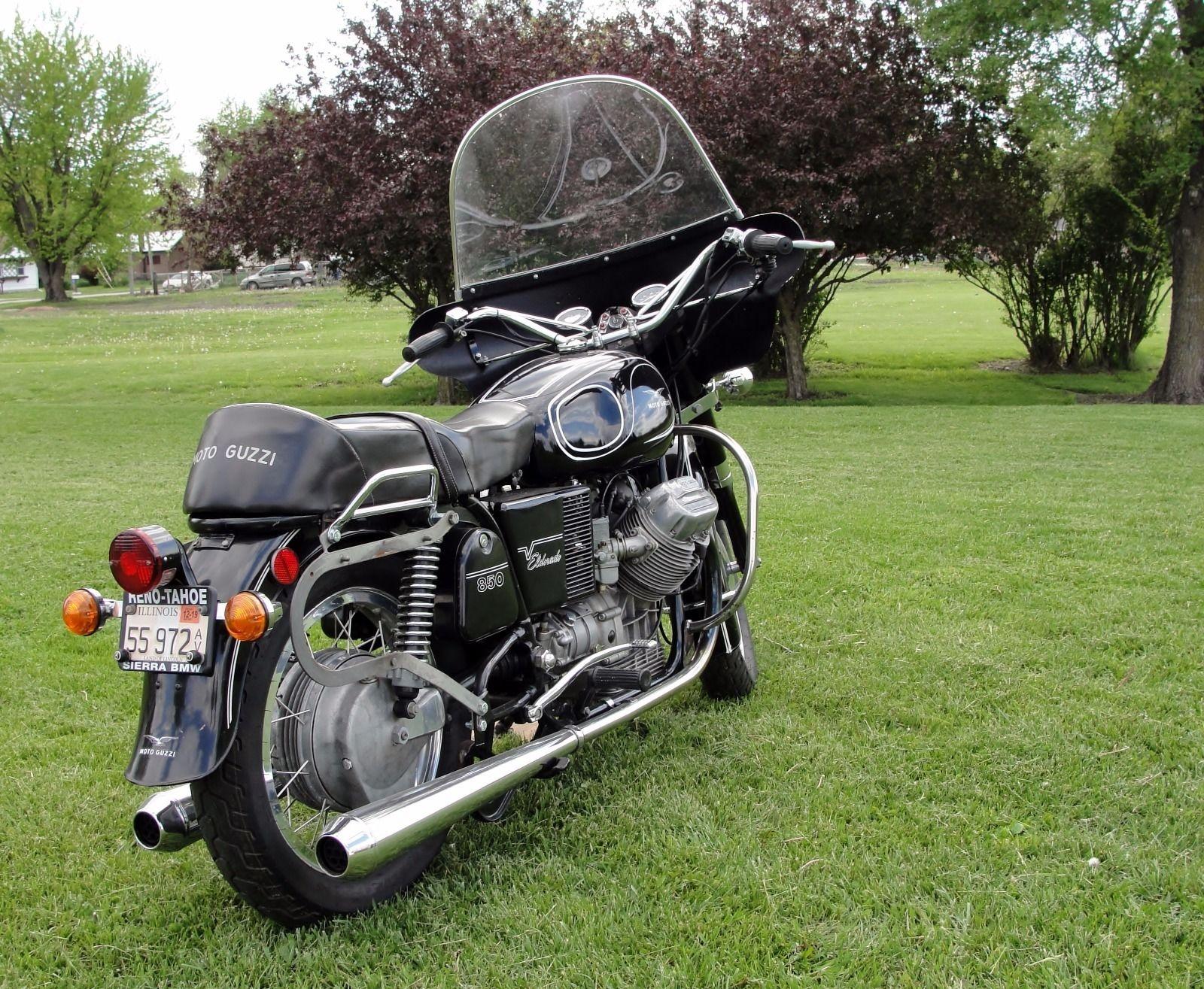 27 Years In Storage 1973 Moto Guzzi 850 Eldorado