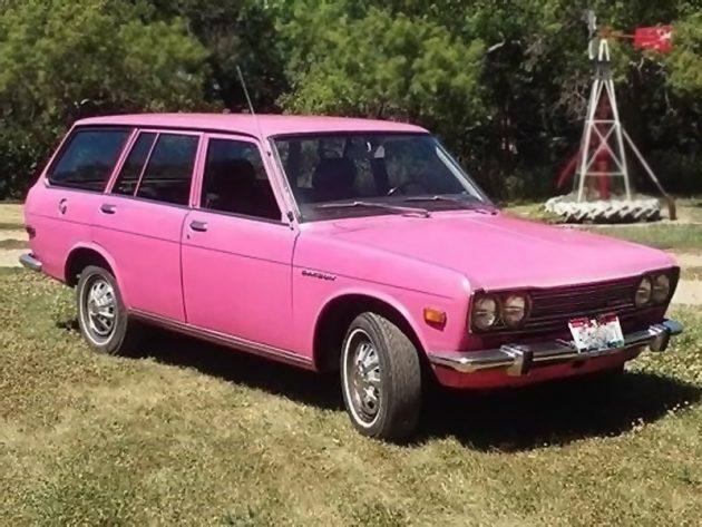 070616 Barn Finds - 1972 Datsun 510 Wagon - 1