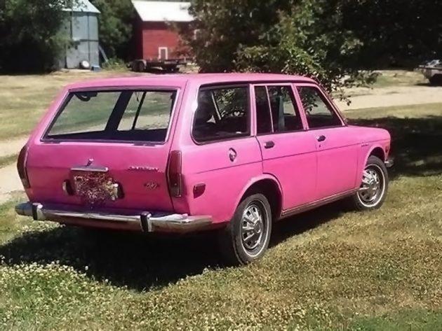 070616 Barn Finds - 1972 Datsun 510 Wagon - 3