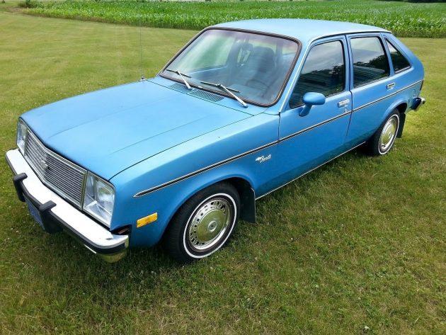 070616 Barn Finds - 1980 Chevrolet Chevette - 2