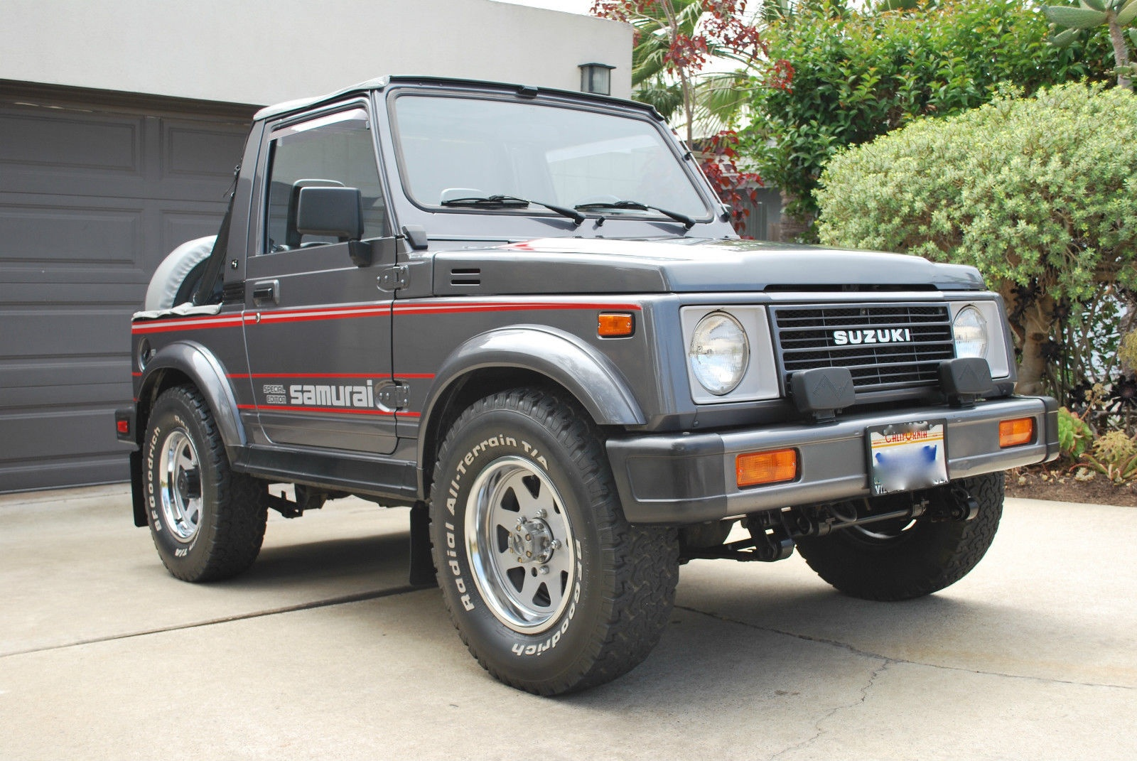 trail tested time machine 1987 suzuki samurai jx se. Black Bedroom Furniture Sets. Home Design Ideas