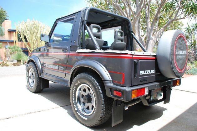 070616 Barn Finds - 1987 Suzuki Samurai JX SE - 3
