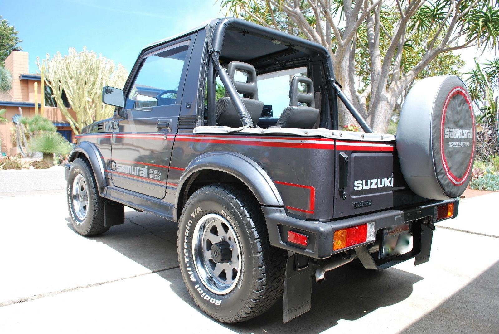 Silver Suzuki  Door Back