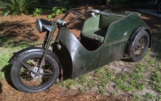 070916 Barn Finds - 1956 Poirier Voiturette XW5 Monoto - 1