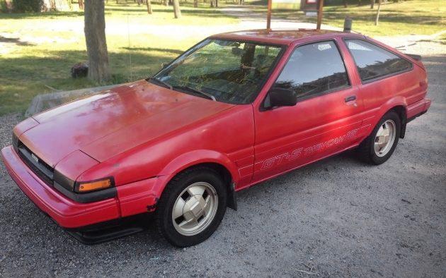 070916 Barn Finds - 1985 Toyota Corolla Sport GTS - 1