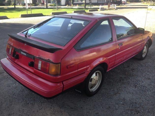 070916 Barn Finds - 1985 Toyota Corolla Sport GTS - 3