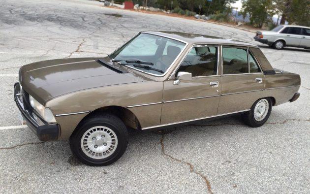 French Original: 1975 Peugeot 604 SL Sedan