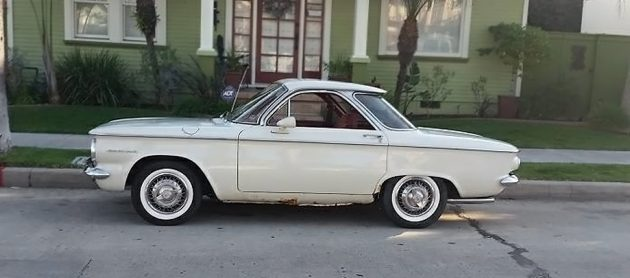 Craigslist Old Cars For Sale >> Short Sale: 1960 Chevrolet Corvair 700