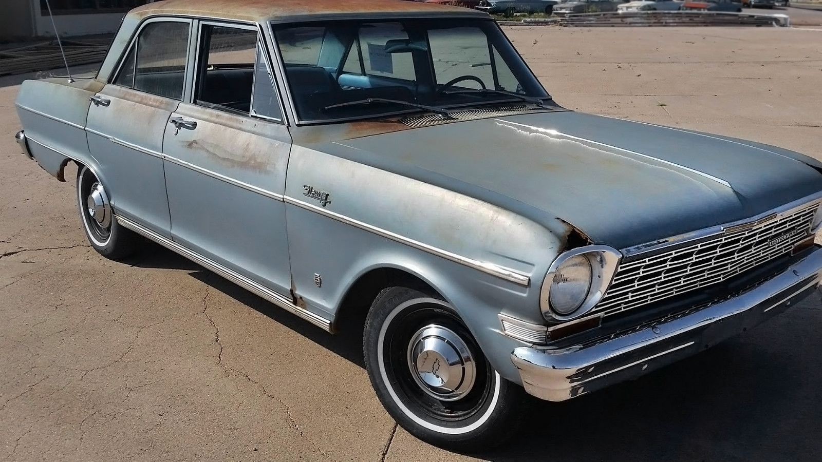 All Chevy 64 chevy ii : Stored for 38 Years: 1962 Chevrolet Corvair Monza
