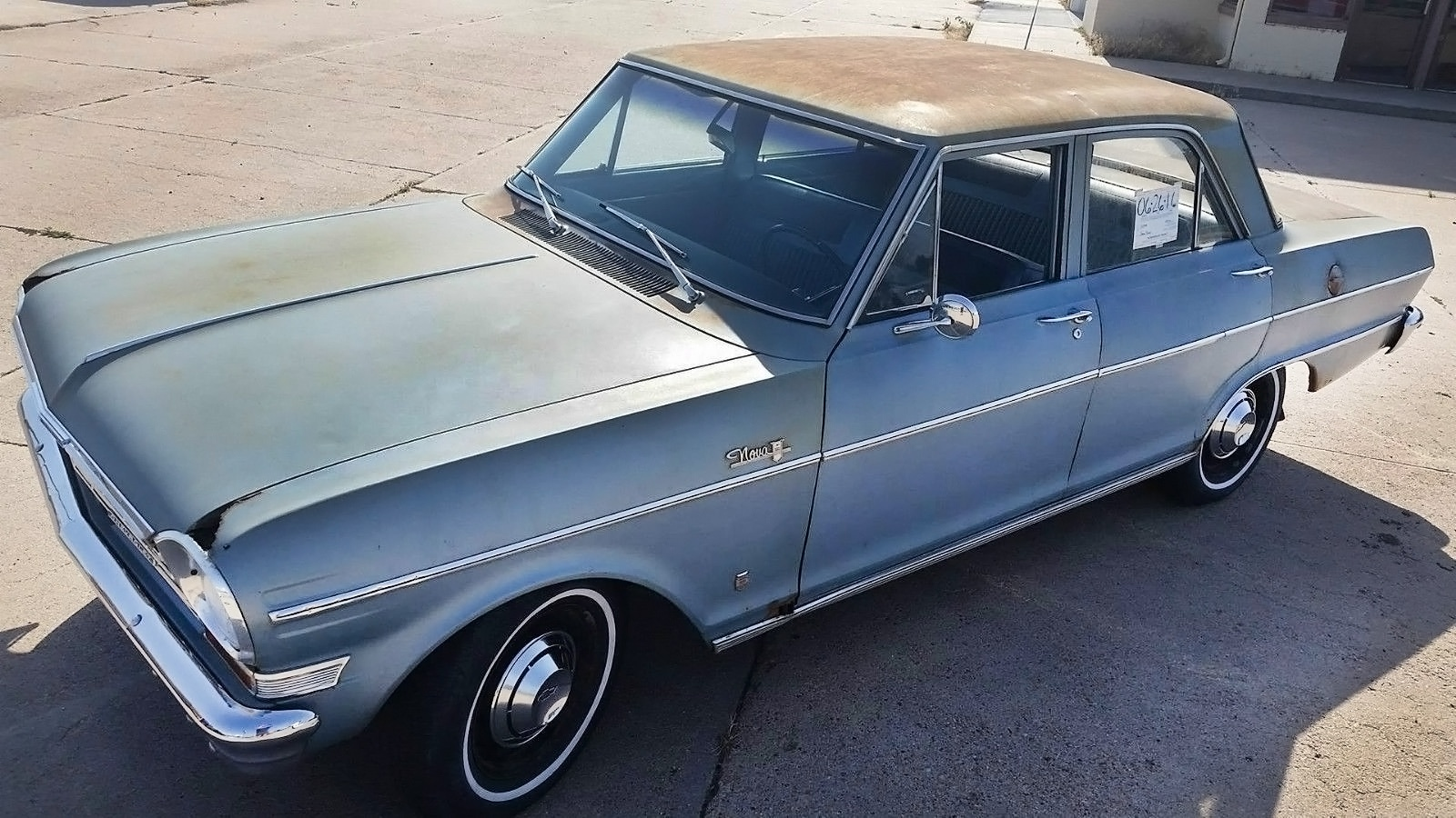 071516 Barn Finds - 1964 Chevrolet Chevy II Nova 400- 3