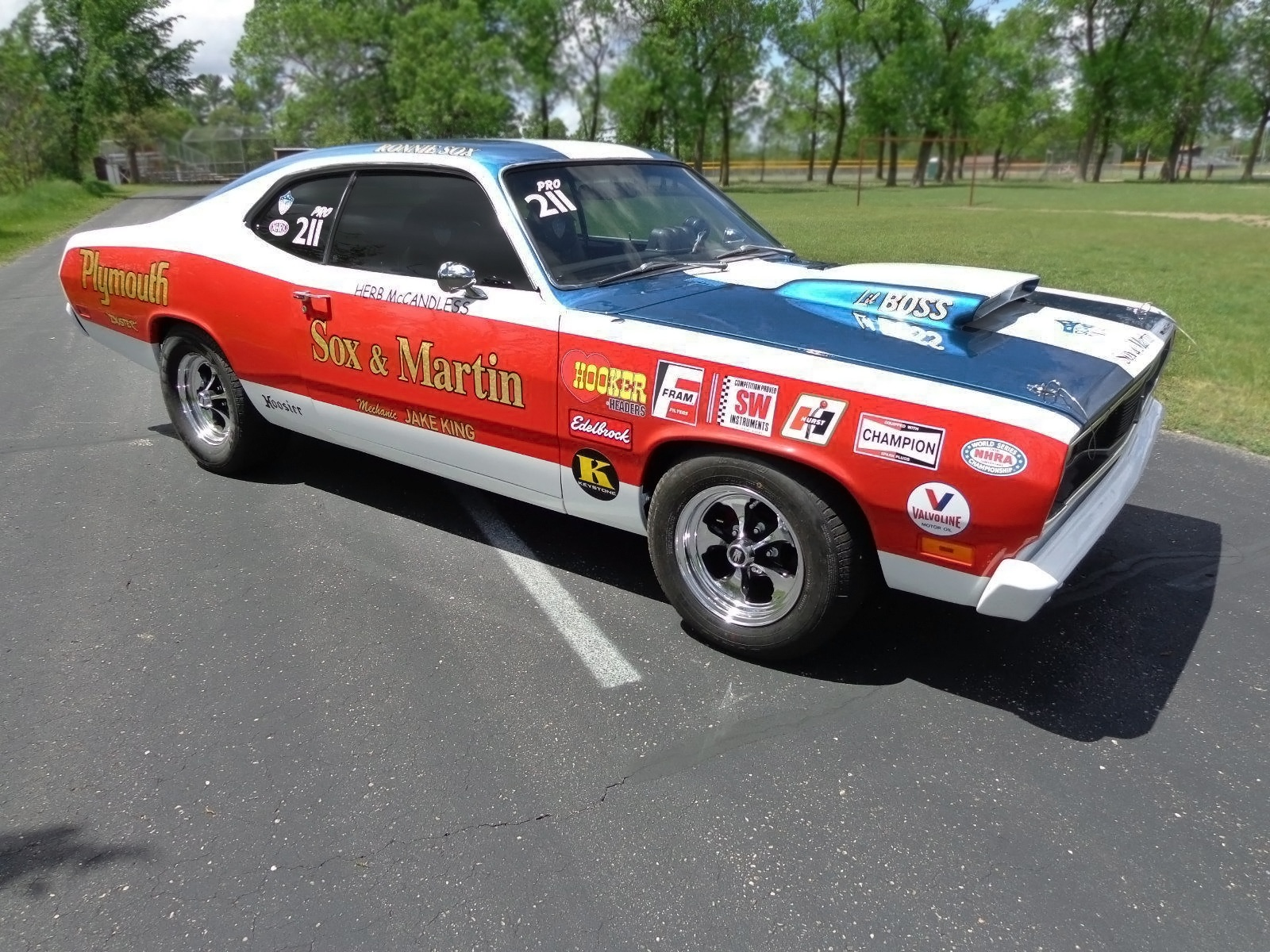 Sox & Martin Tribute Car: 1970 Plymouth Duster
