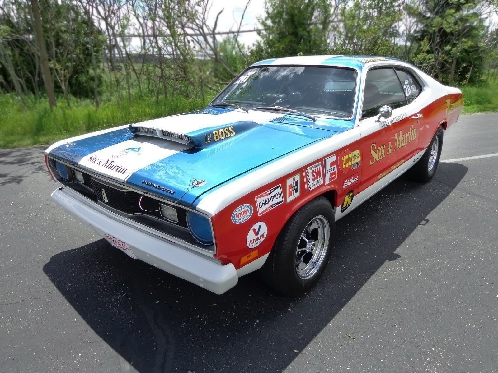 071516 barn finds 1970 plymouth duster tribute 3