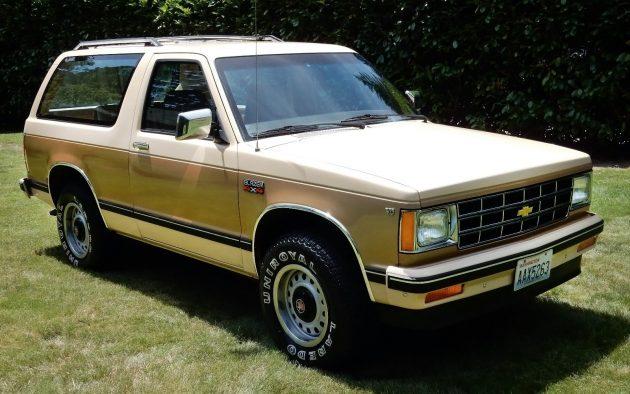 071516 Barn Finds - 1983 Chevrolet Blazer S10- 1