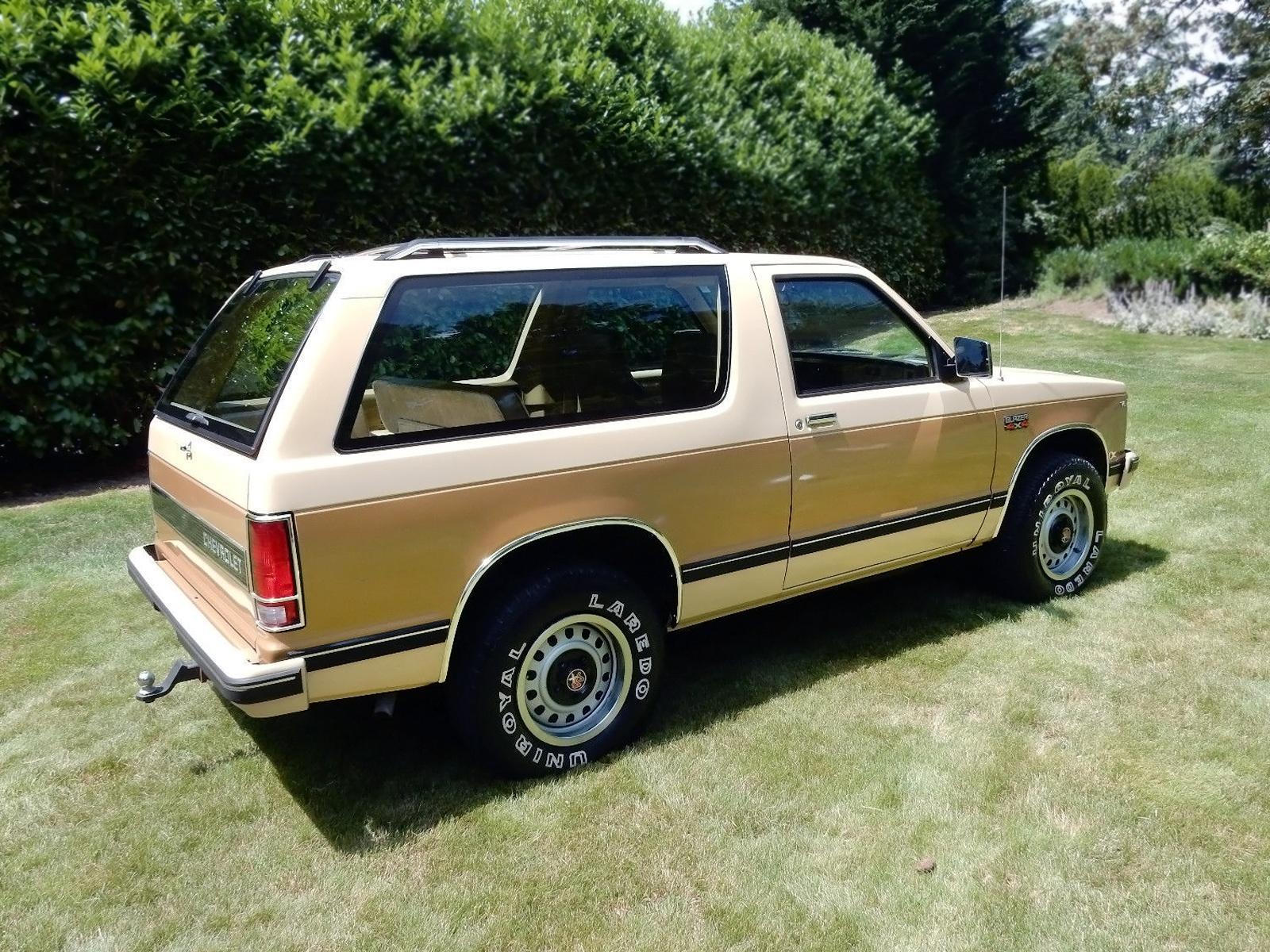 original with 23 844 1983 chevy s 10 blazer