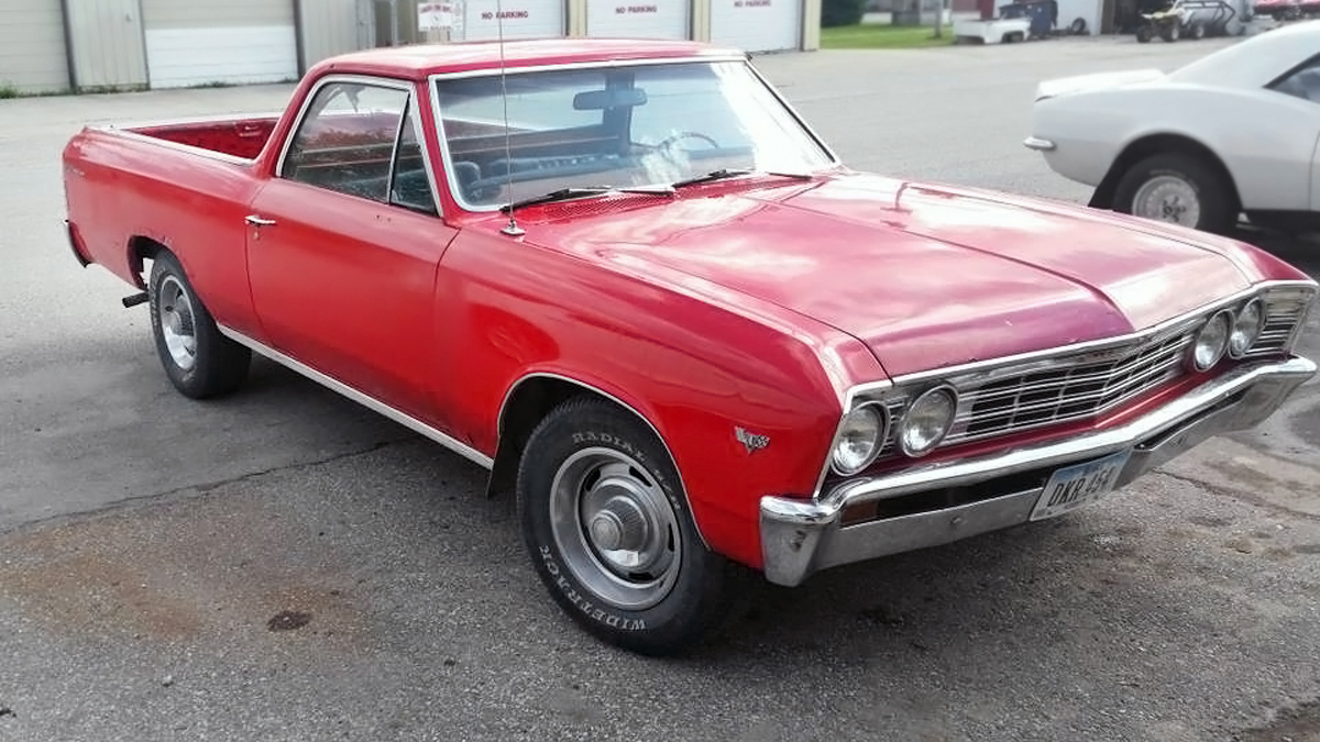 3 500 Hauler 1967 Chevrolet El Camino