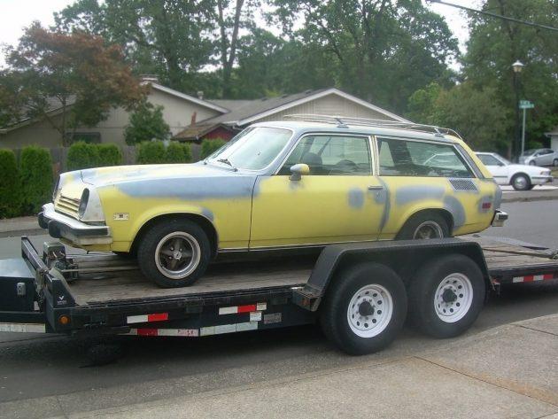 071816 Barn Finds - 1976 Chevrolet Vega GT Wagon - 1