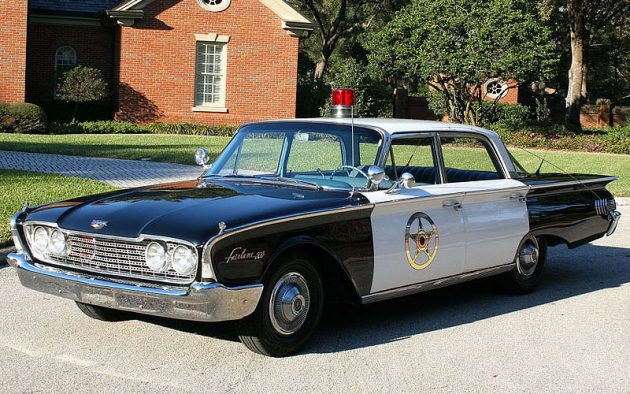 072016 Barn Finds - 1960 Ford Fairlane 500 Police Sedan - 1