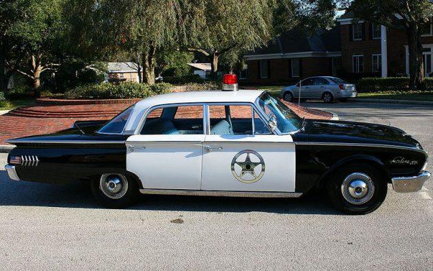 072016 Barn Finds - 1960 Ford Fairlane 500 Police Sedan - 2
