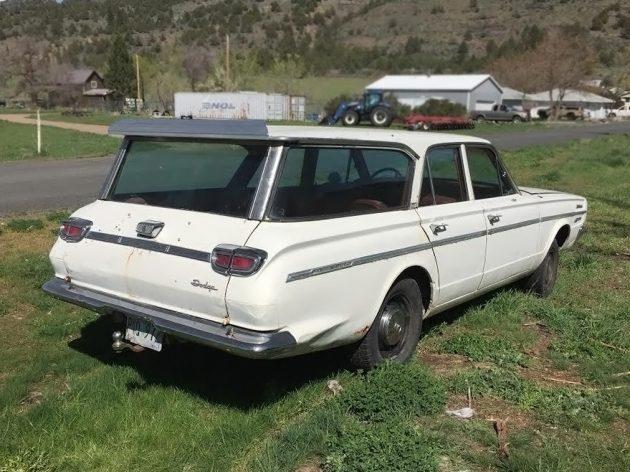 073116 Barn Finds - 1966 Dodge Dart 270 Wagon - 3