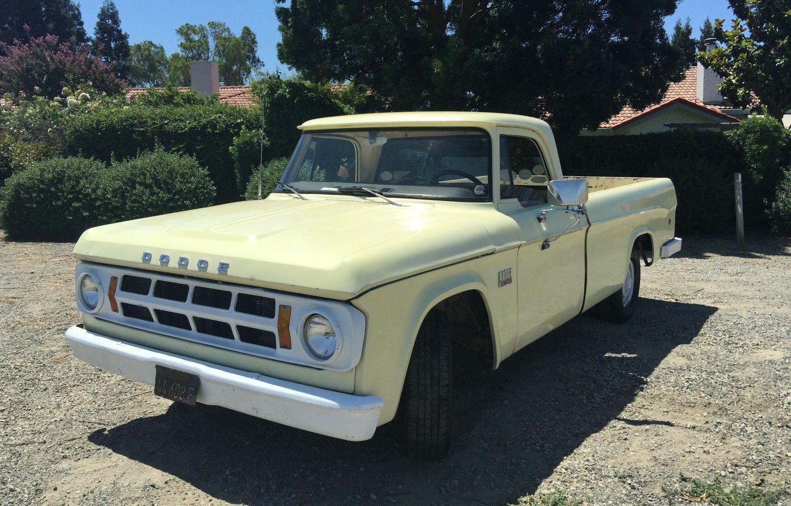 Another Honest Truck: 1969 Dodge D100