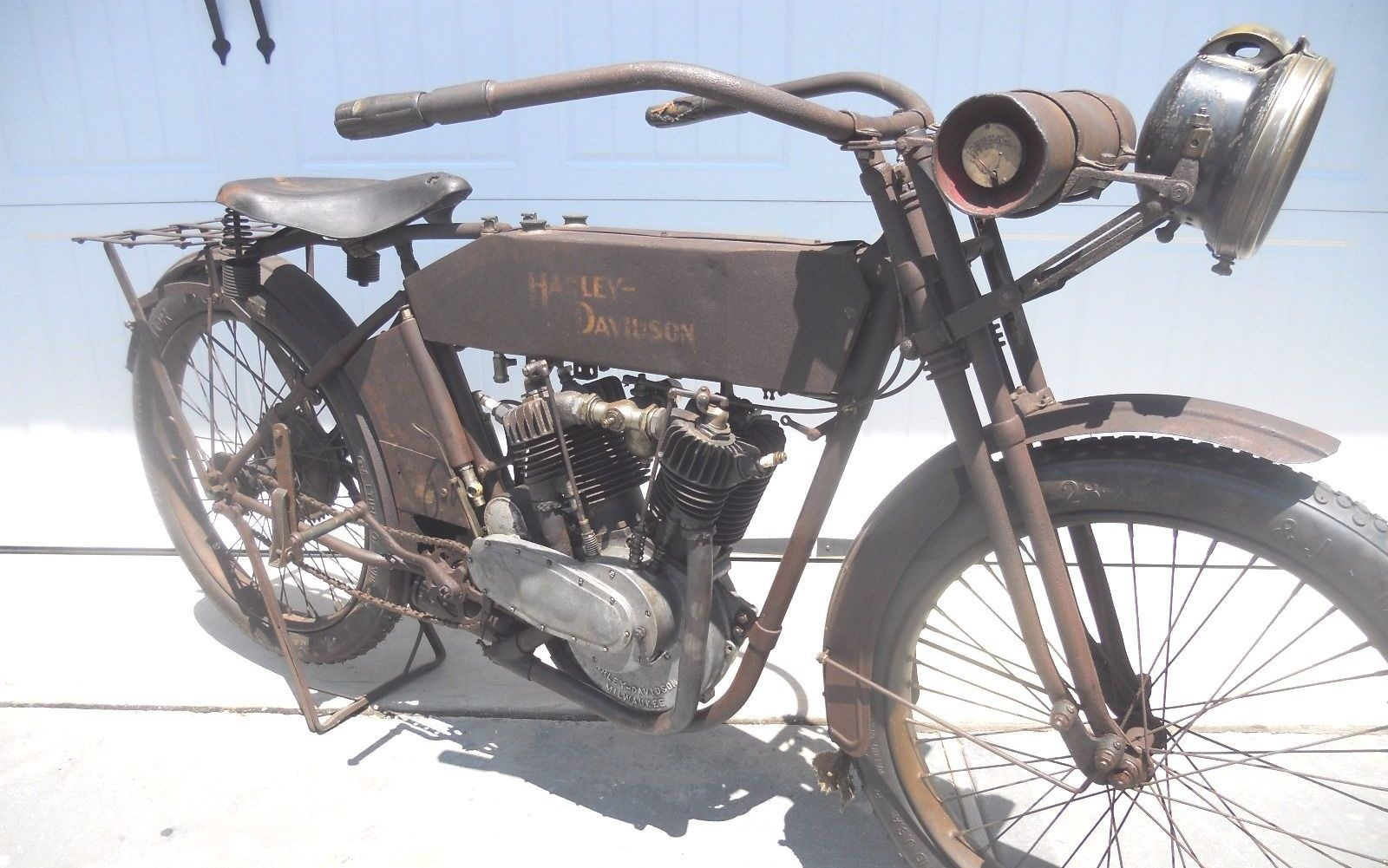 Three Owner V-twin: 1913 Harley-Davidson 9E