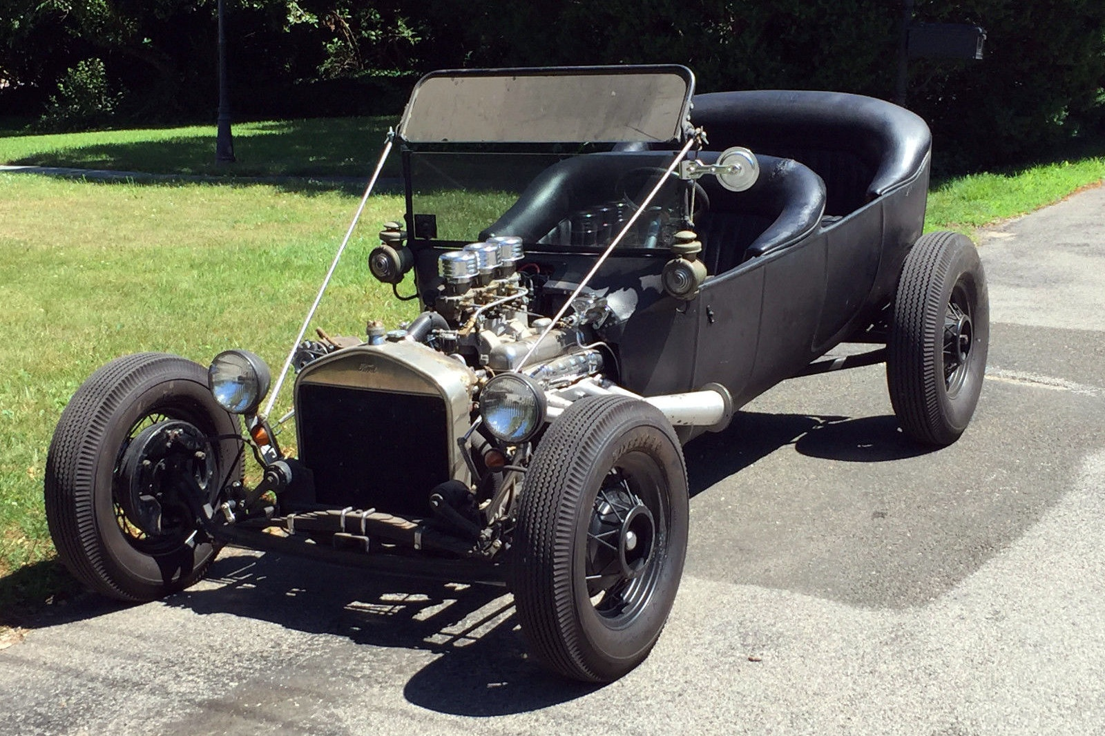 Touring Hot Rod: 1917 Ford Model T