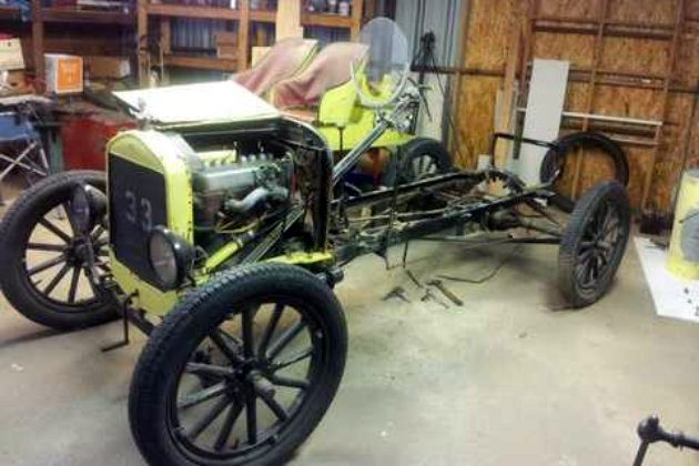 1925 Ford Model T In Storage
