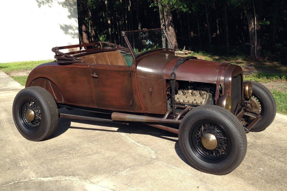 Patina perfect 1929 ford model a