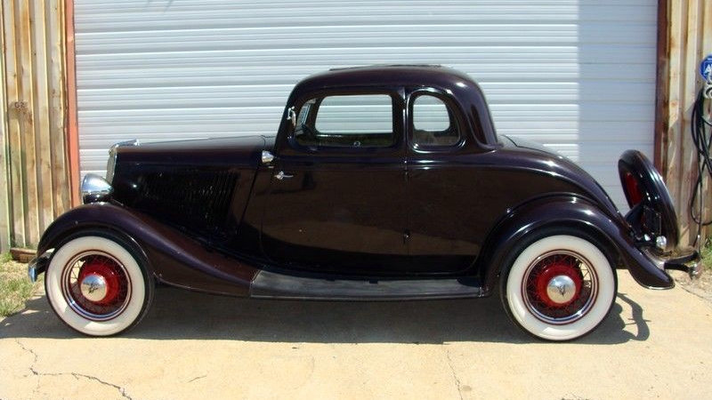 1934 ford 5 window coupe with steel body for sale pictures