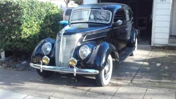 Still Unsold: 1937 Ford Sedan